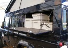 Landrover Side Window Storage Compartment