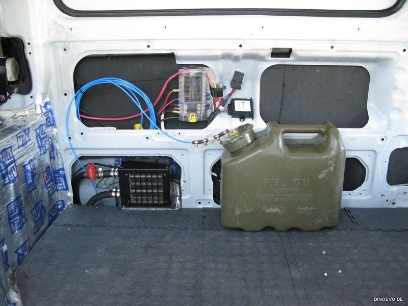 Diesel Heater - Bus Heater Core